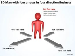 3d_man_with_four_arrows_in_four_direction_business_ppt_graphics_icons_Slide01