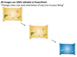 3d_map_for_treasure_hunt_powerpoint_template_Slide02