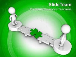 3d Men Crossing The Path Solution Business Powerpoint Templates Ppt Themes And Graphics