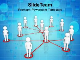 3d Men Form Social Networking Process Communication Powerpoint Templates Ppt Themes And Graphics 0113