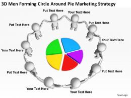3d_men_forming_circle_around_pie_marketing_startegy_ppt_graphics_icons_powerpoin_Slide01