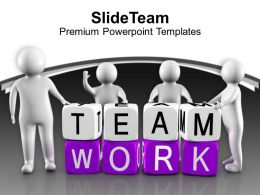 3d Men Forming Teamwork Concept Business PowerPoint Templates PPT Themes And Graphics 0213