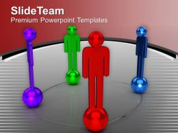 3d Men Forms Social Network Business PowerPoint Templates PPT Themes And Graphics 0213