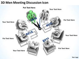 3d_men_meeting_discussion_icon_ppt_graphics_icons_Slide01