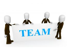3d_men_posing_near_a_board_with_word_team_stock_photo_Slide01