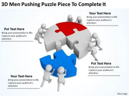 3d_men_pushing_puzzle_piece_to_complete_it_ppt_graphics_icons_powerpoint_Slide01