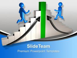 3d Men Running To Achieve Success Business Powerpoint Templates Ppt Themes And Graphics 0113