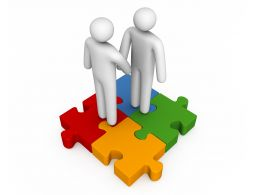 3d_men_shaking_hands_over_square_puzzle_stock_photo_Slide01
