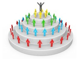 3d_men_standing_in_circular_podium_with_one_leader_stock_photo_Slide01