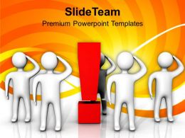 3d Men Thinking Standing Decision PowerPoint Templates PPT Themes And Graphics 0213