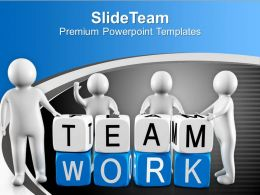 3d Men With Teamwork Blocks Business PowerPoint Templates PPT Themes And Graphics 0213