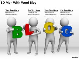 3d_men_with_word_blog_ppt_graphics_icons_powerpoint_Slide01