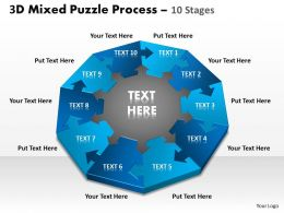 3D Mixed Puzzle Process 10 2