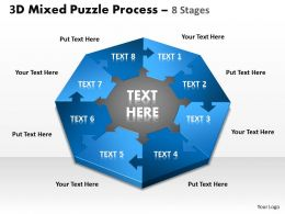 3D Mixed Puzzle Process 8 1
