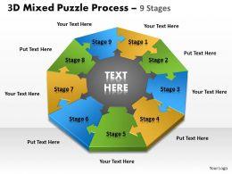 3D Mixed Puzzle Process 9 1