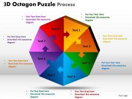 3D Octagon Puzzle Process 2