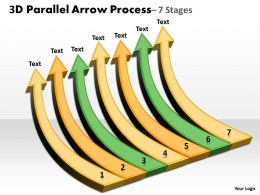 3D Parallel Arrow Process 2