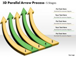 3D Parallel Arrow Process 38