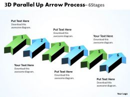 3D Parallel Up Arrow Process 4