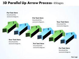 3D Parallel Up Arrow Process 4