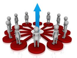 3d_peoples_standing_on_red_platform_connected_with_network_showing_growth_stock_photo_Slide01
