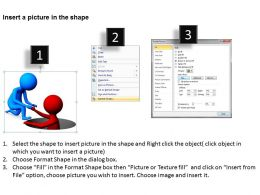 3D Person Helping Another Person Ppt Graphics Icons Powerpoint