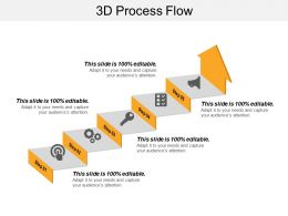 3d Process Flow Powerpoint Slide Templates Download