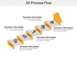 3d Process Flow PowerPoint Slide Templates Download