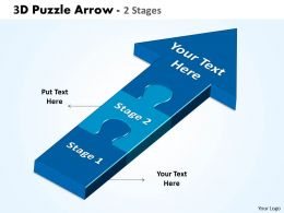 3d puzzle arrow 2 stages 56