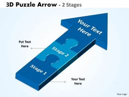 3D Puzzle Arrow 2 Stages