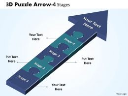 3D Puzzle Arrow 4 Stages 13