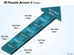 3D Puzzle Arrow 6 Stages 13