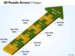 3D Puzzle Arrow 7 Stages 11