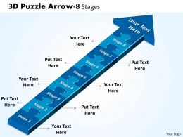 3D Puzzle Arrow 8 Stages 12