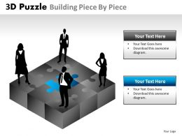 3D Puzzle Building Piece By Piece 5