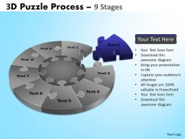 91555927 Style Puzzles Circular 9 Piece Powerpoint Presentation Diagram Infographic Slide