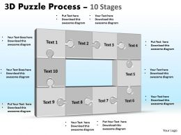 3D Puzzle Process Stages 10