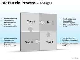 3D Puzzle Process Stages 4