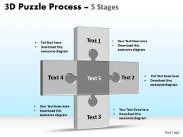 3D Puzzle Process Stages 5