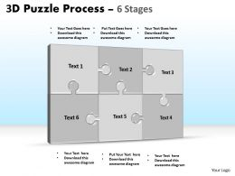 3D Puzzle Process Stages 6