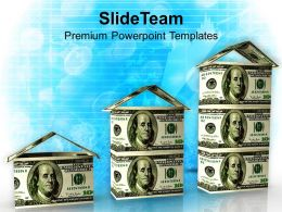 3d Render Real Estate Marketing Concept Powerpoint Templates Ppt Themes And Graphics 0213