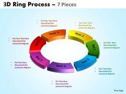 3D Ring Process 7 Pieces 4