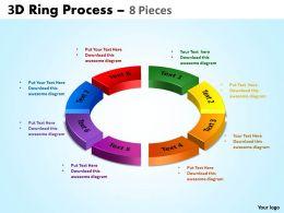3D Ring Process 8 Pieces 4