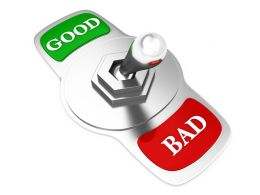 3d_silver_switch_pointing_towards_bad_stock_photo_Slide01