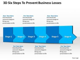 3D Six Steps To Prevent Business Losses 1