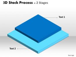 3D Stack Process For Business 1