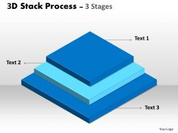 3D Stack Process With 3 Stages 9