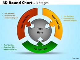 3D Stages diagram Ppt Templates 4