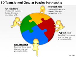 3d_team_joined_circular_puzzles_partnership_ppt_graphics_icons_powerpoint_Slide01