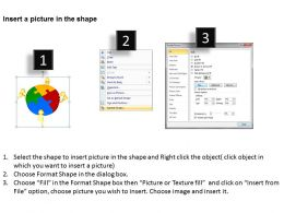 3D Team Joined Circular Puzzles Partnership Ppt Graphics Icons Powerpoint